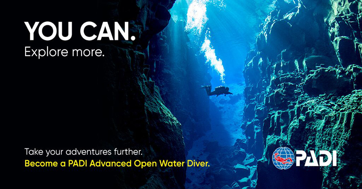 Take your diving further and become a PADI Advanced Open Water Diver. Learn to manage emergencies in the water. Be the best of the best.
